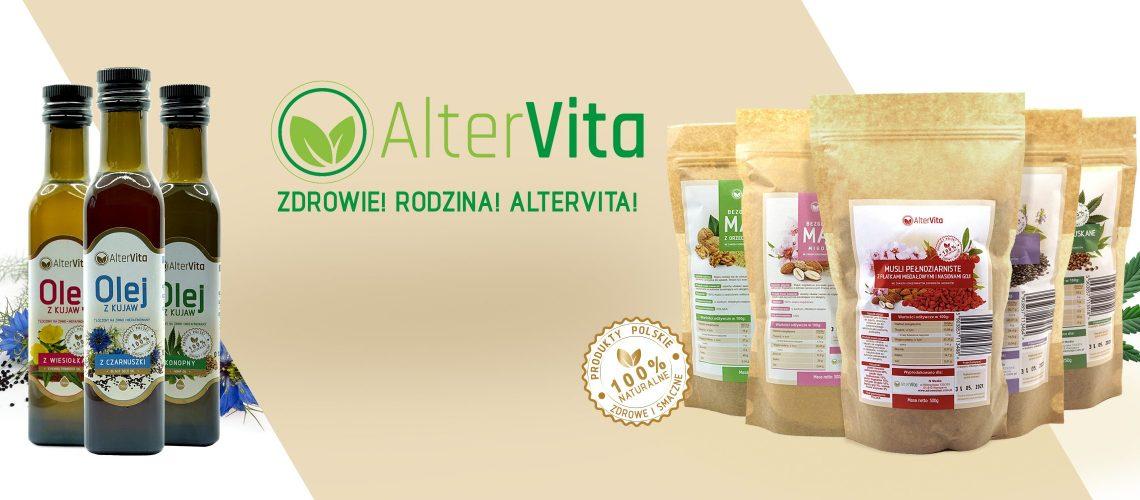 Informacje na temat marki AlterVita - Oleje Tłoczone na Zimno i Bezglutenowe Mąki